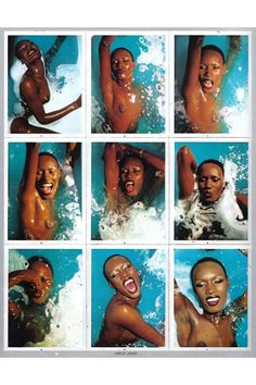 Grace Jones, photos by: Antonio Lopez Grace Jones, Jerry Hall, Kenzo, Amazing Grace, Fashion Editor, Clip, Look Fashion, Candid, Supermodels