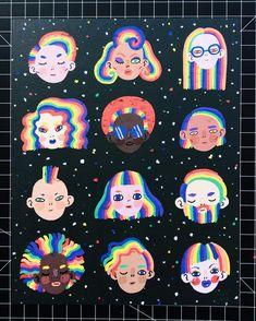 Diversity is beautiful ✨️✨️✨️✨️✨️✨️ #illustration #ilustración #art #digitalart #print #drawing #illustrator…