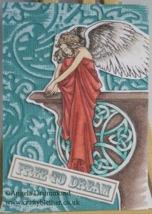 Celtic Angel ATC