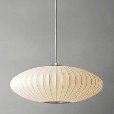 George Nelson Bubble Saucer Ceiling Light