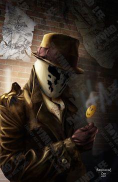 The Face of A Vigilante by raymundlee.deviantart.com on @deviantART