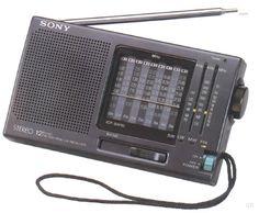 Listen worldwide!! - Shortwave Radio - Sony ICF-SW10