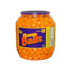Cheese Puffs, Cheese Ball, Animal Crossing Plush, Ryan Toys, Sleepover Food, Bad Room Ideas, Confectioners Glaze, Snack Box, Ball Jars