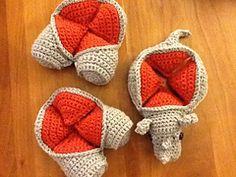 Ravelry: Gregor Crochet Rhinosaur Puzzle pattern by Dedri Uys  £2.00 GBP
