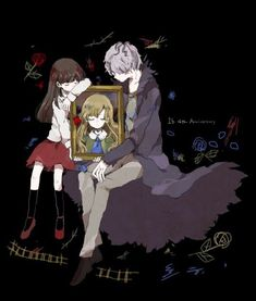 Ib (Иб/Ева/Изабель) Rpg Maker, Maker Game, Angel Of Death, Ib And Garry, Ib Game, Mad Father, Scary Games, Rpg Horror Games, Witch House