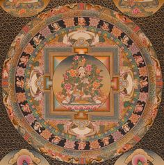 Tibetan Mandala   Weisse- / White Tara Mandala