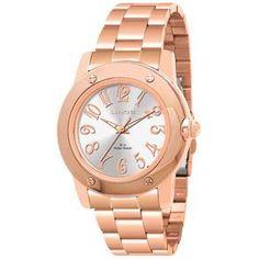 Relógio Feminino Analógico Lince LRR4185L - Rosé - Analógico no Extra.com.br