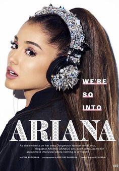 Ariana Grande Updates — Ariana Grande for 'Cosmopolitan' magazine.