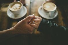 Coffee House #engagement shoot?  Love this image!