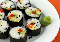 Vegetable sushi makes a perfect summertime lunch. This shows you how ...