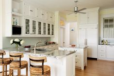A Classic All-White Kitchen - Old-House Online
