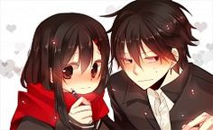 Ayano and Shintaro | Kagerou project