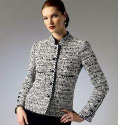 Vogue Patterns Misses'/Misses' Petite Jacket 8991