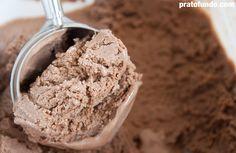 O Melhor Sorvete de Chocolate por PratoFundo