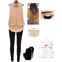 cute outfit by neowolf on Polyvore