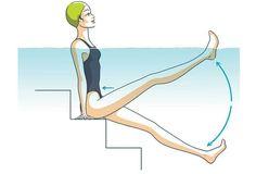 Aquagym : 4 exercices pour un ventre plat