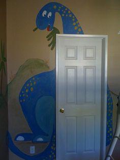 Dinosaur Room for my nephew :)