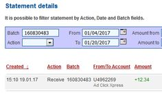 I work online from home and I manage to cover my low salary income.Online income is possible with ACX, who is definitely paying- no scam here. Ad Click Xpress is the best ONLINE OPPORTUNITY for you.This is not a scam and I love making money online with Ad Click Xpress. This is my daily payments with ACX !