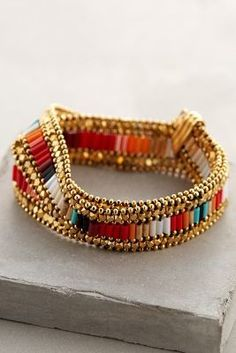 Gas Bijoux Maulit Wrap Bracelet #anthroregistry