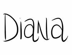 Diana. Names ending in A are seen as cooler and sexier right now than their polished and classy E versions (Anna/Anne, Carolina/Caroline, Diana/Diane). Diana isn't very common--practically underused--and in addition to the goddess heritage, it still has a distinct aura of royalty from the Princess of Wales. It was also used in Austen novels and other literary classics.