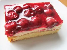 Kirsch - Schmand - Blechkuchen