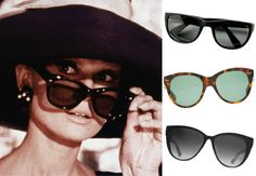Audrey Hepburn's Cat Eye Sunglasses