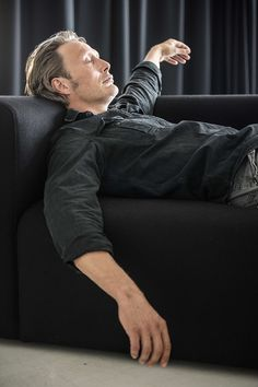 Eats people. Still attractive.   Mads Mikkelsen