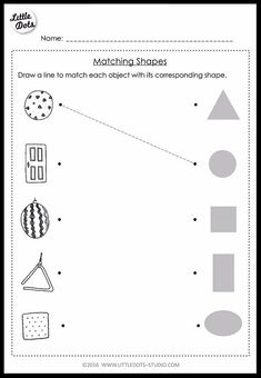 Download pre-k shapes worksheets on circle, square, triangle, rectangle and oval. Help your child recognise and name basic shapes.