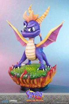 Spyro the Dragon Statue Spyro