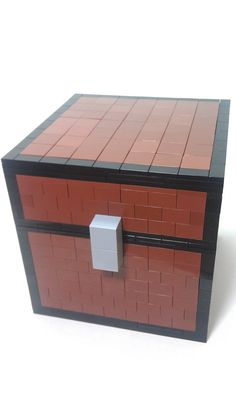 Minecraft Chest Custom on Etsy, $95.93 AUD | Holy crap, I know this is expensive, VERY expensive, but I can see this in my new room, sitting there holding my stuffs for me! I NEED this!