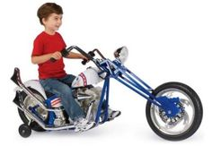 What kid wouldn't want this?!  Much better than the Big Wheels that I had when growing up!