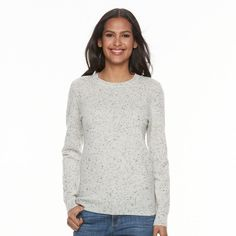 Apt. 9 Women's Cashmere Crewneck Sweater