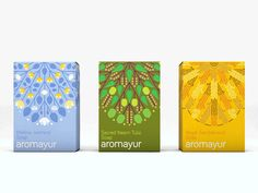 Aromayur (Concept) on Packaging of the World - Creative Package Design Gallery