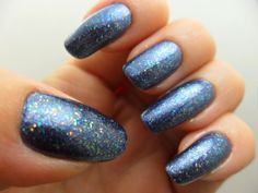 Sinful Colors Precious Metal topped with Sephora by OPI Dream Princess.