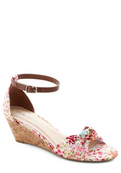 38a05948b95 Step Into the Sunlight Wedge in Floral