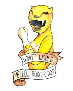 What Would The Yellow Ranger Do? http://the-toast.net/2014/07/02/what-would-yellow-ranger-do-cartoon/