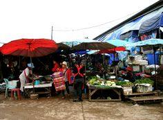Vientiane markt
