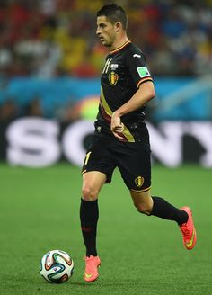 Kevin Mirallas of Belgium in the 2014 World Cup
