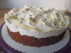 Kirsch - Eierlikör - Blechkuchen mit Schmand - Sahne 27