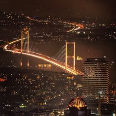 ✿ ❤ Bosphorus Bridge in Istanbul Turkey