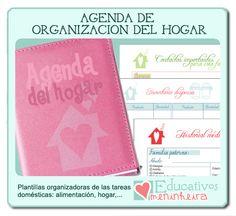 Educarpetas: La agenda ideal para la organización del hogar ¡al fin es una realidad!