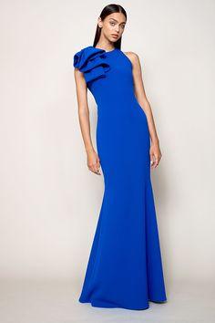 Los mejores vestidos de fiesta de las colecciones Resort 2018: Marchesa, Temperley London, Carolina Herrera, Reem Acra, Eerdem y más.
