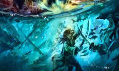 While we all eagerly await the opening of Shanghai Disneyland in spring the universe has blessed us with this new concept art of Treasure Cove, which will be the first ever all Pirates of the Caribbean-themed land in a Disney Park. Old Disney, Disney Love, Disney Art, Shanghai Disney Resort, Tokyo Disney Sea, Disney Animated Movies, Disney Films, Walt Disney Imagineering, Disney Concept Art