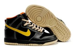 new styles c97e4 f3320 Man Nike Dunk SB High Black-Yellow 317892 071 Nike Shoes Online, Nike Shoes