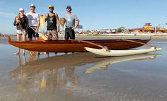 Outrigger Sailing Canoes: Four Seat Ulua in Texas