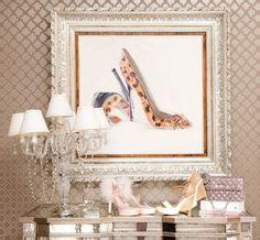 leopard shoes frame