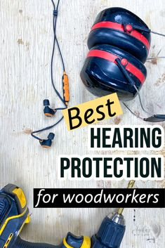 My best recommendations for hearing protections for woodworking. Understand what to look for in them and how to choose the best ear protection that works for you. Kreg Jig Projects, Scrap Wood Projects, Furniture Projects, Diy Furniture, Woodworking At Home, Woodworking Projects That Sell, Woodworking Workshop, Ear Protection, Hearing Protection