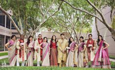 Photography by G+H photography discover more wedding inspiration at www.shaadibelles.com #shaadi #belles #weddings #indian #southasian Indian Bridal Party, Dream Wedding, Wedding Dreams, Wedding Inspiration, Asian, Photography, Apps, Weddings, Ideas