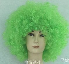 Short Curly Party Wig Halloween Soccer Fans Full Wig(green) by BEAUTYWIG Take for me to see Short Curly Party Wig Halloween Soccer Fans Full Wig(green) Review You perchance can purchase any products and Short Curly Party Wig Halloween Soccer Fans Full Wig(green) at the Best Price Online with Secure Transaction . We are the simply … Clown Dress, Costume Dress, Cosplay Wigs, Cosplay Costumes, Cosplay Ideas, Halloween Costumes 2014, Clown Party, Fancy Suit, Disco Party