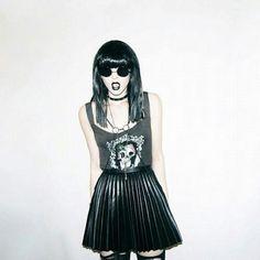 Grunge fashion / style photography
